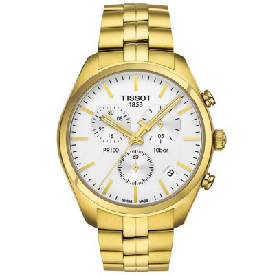 TISSOT PR100 CHRONOGRAPH QUARTZ 41MM MEN'S WATCH T101.417.33.031.00