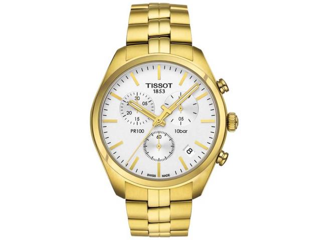 TISSOT PR100 CHRONOGRAPH QUARTZ 41MM MEN'S WATCH T101.417.33.031.00