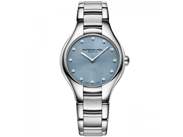 RAYMOND WEIL NOEMIA QUARTZ 32MM LADIES WATCH 5132-ST-50081