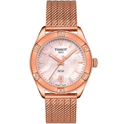 TISSOT PR 100 36MM  LADIES WATCH T101.910.33.151.00