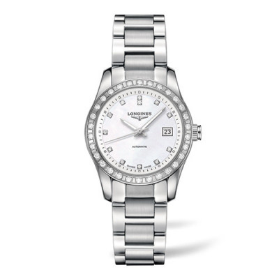 LONGINES CONQUEST AUTOMATIC 29,5MM LADIES WATCH L2.285.0.87.6