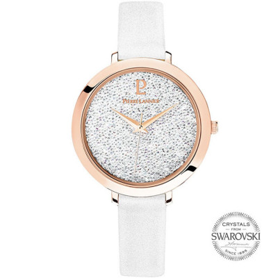 PIERRE LANNIER ELEGANCE CRISTAL 36MM LADY'S WATCH 097M910