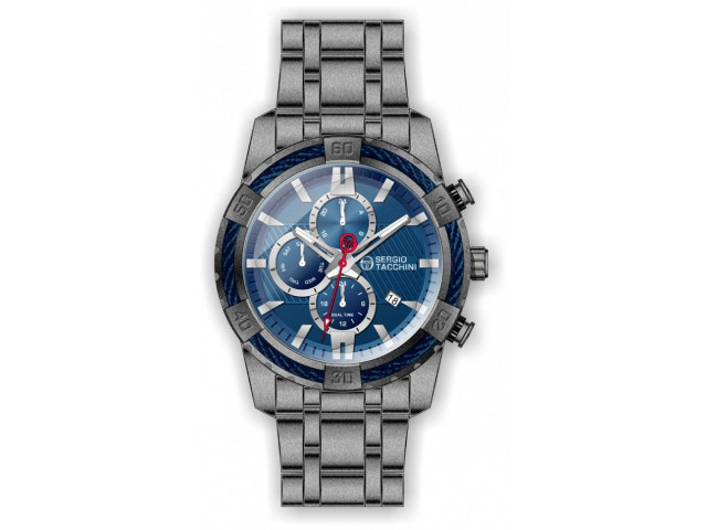 SERGIO TACCHINI HERITECH 46MM MEN'S WATCH ST.1.10098-4