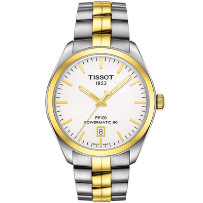 TISSOT PR 100 POWERMATIC80  39MM MEN'S WATCH T101.407.22.031.00