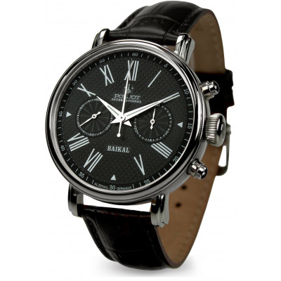 POLJOT INTERNATIONAL BAIKAL CHRONOGRAPH HAND WINDING 43MM MEN'S WATCH  2901.1940913
