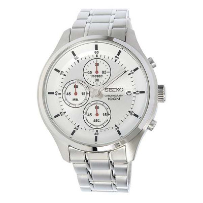 SEIKO SPORT CHRONOGRAPH QUARTZ 43MM MEN'S WATCH SKS535P1