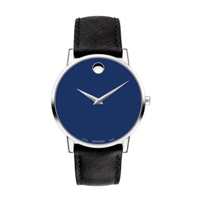 MOVADO MUSEUM QUARTZ 40MM MEN'S WATCH 607197