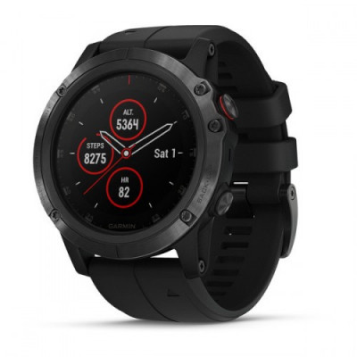 GARMIN FĒNIX® 5X PLUS BLACK 51MM 010-01989-01