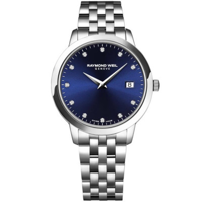 RAYMOND WEIL TOCCATA QUARTZ 34MM LADIES WATCH 5388-ST-50081