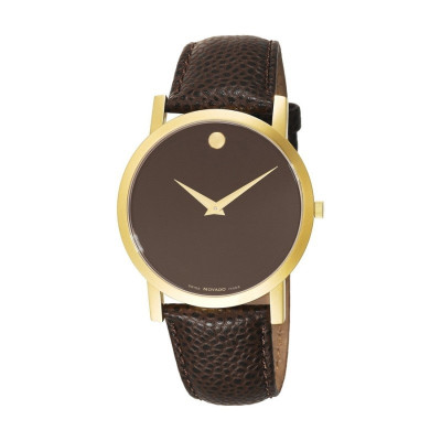 MOVADO MUSEUM QUARTZ 40MM MEN'S WATCH 606304