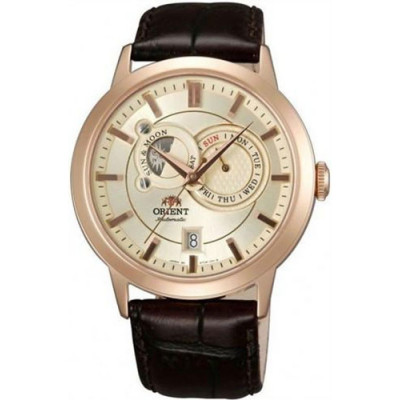 ORIENT CLASSIC AUTOMATIC SUN AND MOON 42ММ MEN'S WATCH FET0P001W