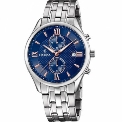 FESTINA CHRONOGRAPH 42MM MEN`S WATCH F6854/6
