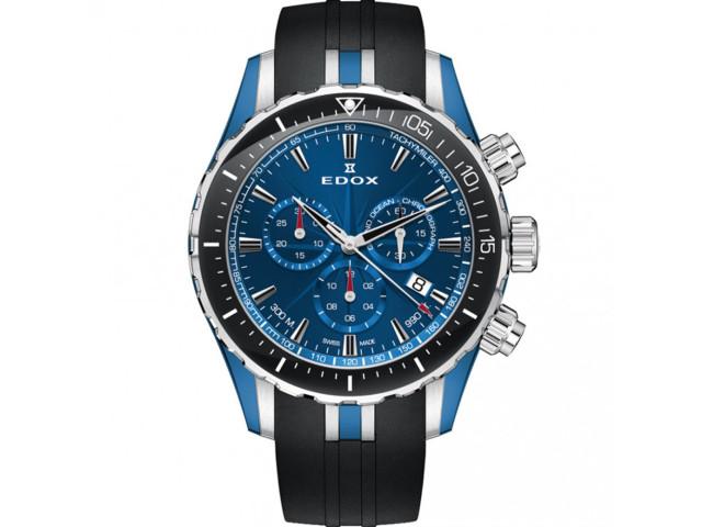 EDOX GRAND OCEAN CHRONOGRAPH 43MM MEN'S WATCH 10248 357BU BUIN