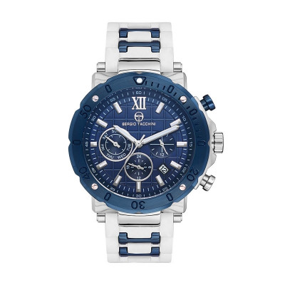 SERGIO TACCHINI HERITECH DUAL TIME 45MM MEN`S WATCH  ST.18.102.06