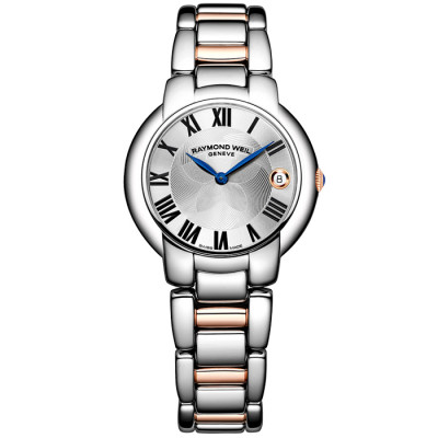 RAYMOND WEIL JASMINE QUARTZ 35MM LADIES WATCH 5235-S5-01659