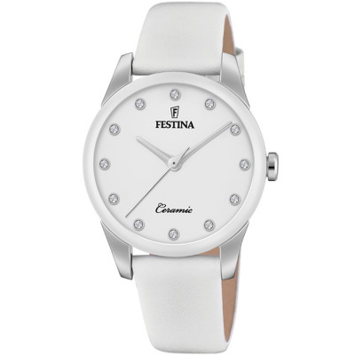 FESTINA CERAMIC 35MM LADIES WATCH  F20473/1