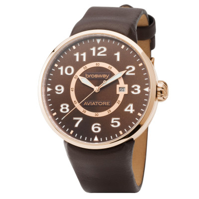 BROSWAY MEN`S WATCH 44.2 MM. WOB30