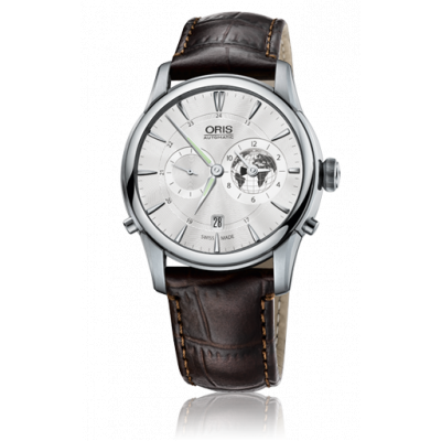 ORIS CULTURE GRENWICH MEAN TIME LE AUTOMATIC 42MM LIMITED EDITION 1000 БРОЯ 690 7690 4081