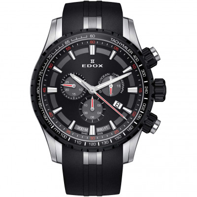 EDOX GRAND OCEAN CHRONOGRAPH 45MM MEN'S WATCH 10226 357NCA NINRO