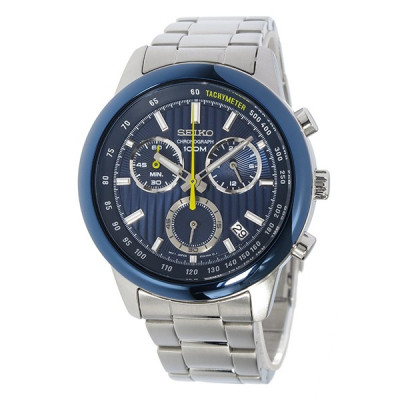 SEIKO SPORT CHRONOGRAPH QUARTZ 42MM MEN'S WATCH SSB207P1