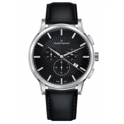 CLAUDE BERNARD CLASSIC CHRONO 43MM MEN'S WATCH 10237 3 NIN