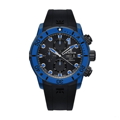 EDOX CLASS-1 CHRONOGRAPH AUTOMATIC 45MM MEN'S WATCH 01125 CLNBUN NINBU
