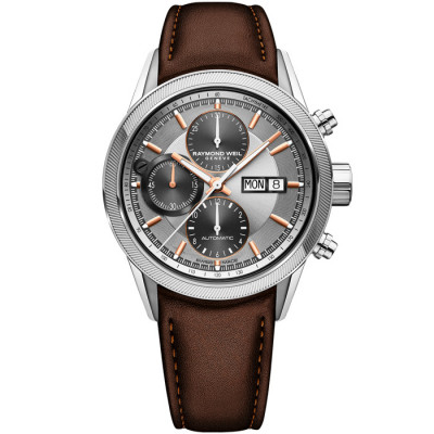RAYMOND WEIL FREELANCER AUTOMATIC 42MM MEN'S WATCH  7731-SC2-65655