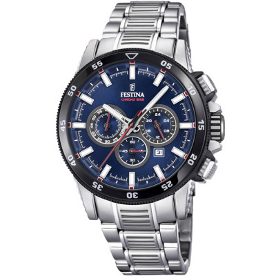 FESTINA CHRONO BIKE 43MM MEN`S WATCH F20352/3