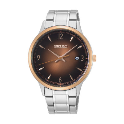 SEIKO CLASSIC 41MM MEN'S WATCH SGEH90P1