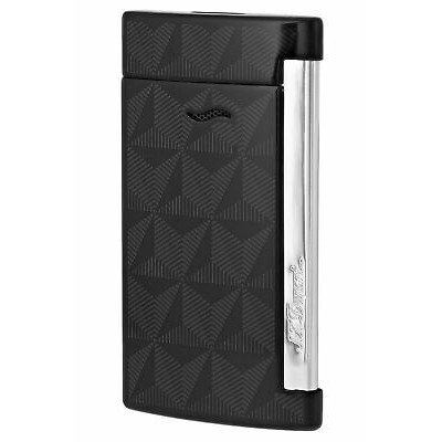 ЗАПАЛКА  S.T.DUPONT SLIM 7 BLACK CHROME 27731