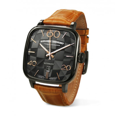 ALEXANDER SHOROKHOFF KANDY AUTOMATIC 41x41MM MEN'S WATCH AS.KD02-4G