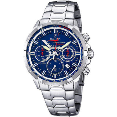 FESTINA CHRONOGRAPH 45MM MEN`S WATCH F6836/3