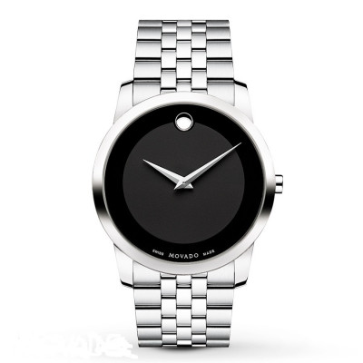 MOVADO MUSEUM QUARTZ 40MM MEN'S WATCH 606504