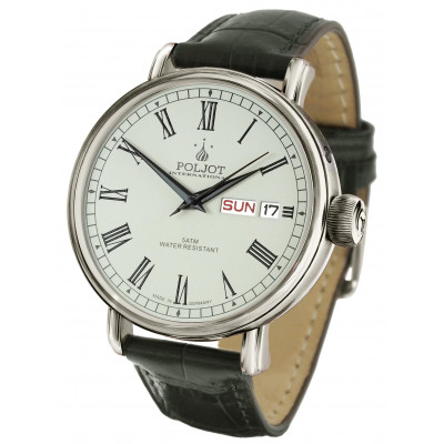 POLJOT INTERNATIONAL NEW YAROSLAVL DAY&DATE  AUTOMATIC 43MM MEN'S WATCH  2427.1540911