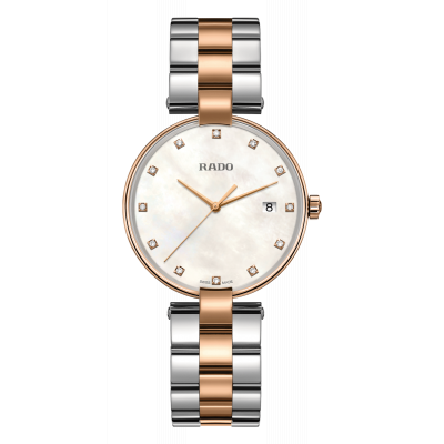 RADO COUPOLE DIAMONDS QUARTZ 36MM LADIES' WATCH   R22853924