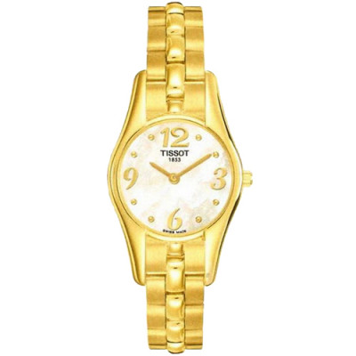 TISSOT T-GOLD PETIT BIJOU QUARTZ 24.12MM LADIES WATCH T73.3.146.74