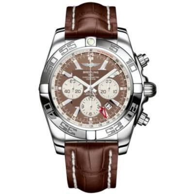 BREITLING CHRONOMAT GMT AUTOMATIC 47MM MEN'S WATCH AB041012/Q586/761P