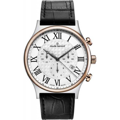 CLAUDE BERNARD CLASSIC CHRONO 42MM. MEN'S WATCH 10217 357R AR