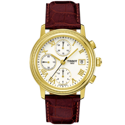 TISSOT T-GOLD BRIDGEPORT AUTOMATIC 37.7MM MEN'S WATCH T71.3.465.13