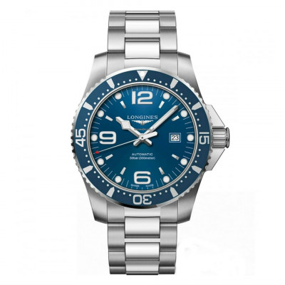 LONGINES HYDROCONQUEST AUTOMATIC 44MM MEN'S WATCH L3.841.4.96.6