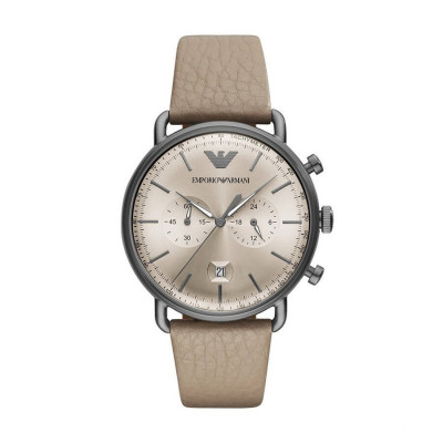 EMPORIO ARMANI AVIATOR 43MM MEN'S WATCH AR11107