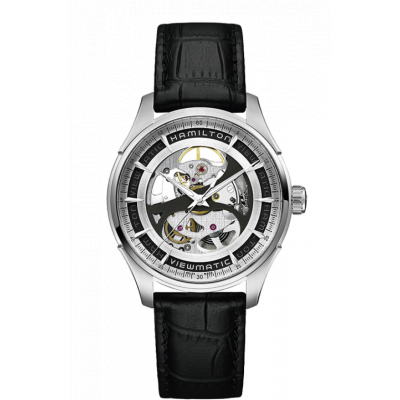 HAMILTON JAZZMASTER VIEWMATIC SKELETON AUTO  40MM MEN'S WATCH H42555751