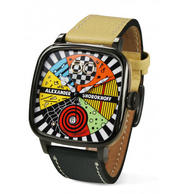 ALEXANDER SHOROKHOFF CANDY AUTOMATIC 41X41MM LIMITED EDITION 100PIECES AS.KD-AVG-2