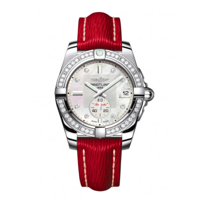 BREITLING GALACTIC 36MM AUTOMATIC LADIES WATCH  A3733053/A717/214X