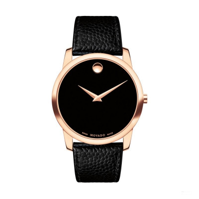 MOVADO MUSEUM QUARTZ 40MM MEN'S WATCH 607060