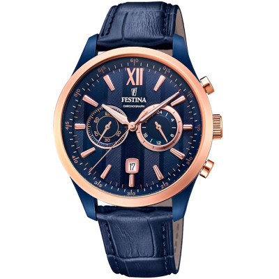 FESTINA CHRONOGRAPH 44MM MEN`S WATCH  F16998/1