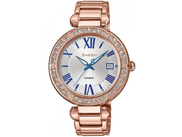 CASIO SHEEN SWAROVSKI EDITION SHE-4057PG-7AUER