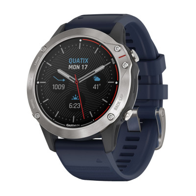 GARMIN QUATIX® 6 GREY WITH BLUE 47MM 010-02158-91