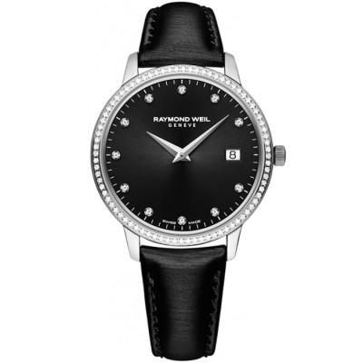 RAYMOND WEIL TOCCATA 34MM LADIES WATCH 5388-SLS-20081
