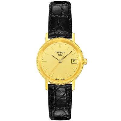 TISSOT T-GOLD GOLDRUN 24MM LADIES WATCH T71.3.115.21